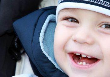 Durchbrechen der Zähne
