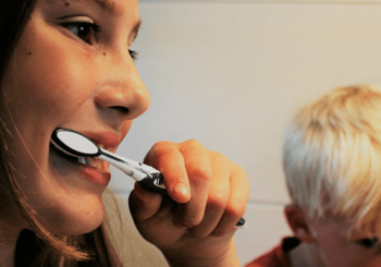 Zahnfärbetabletten