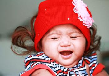 Schmerzen bei Babys
